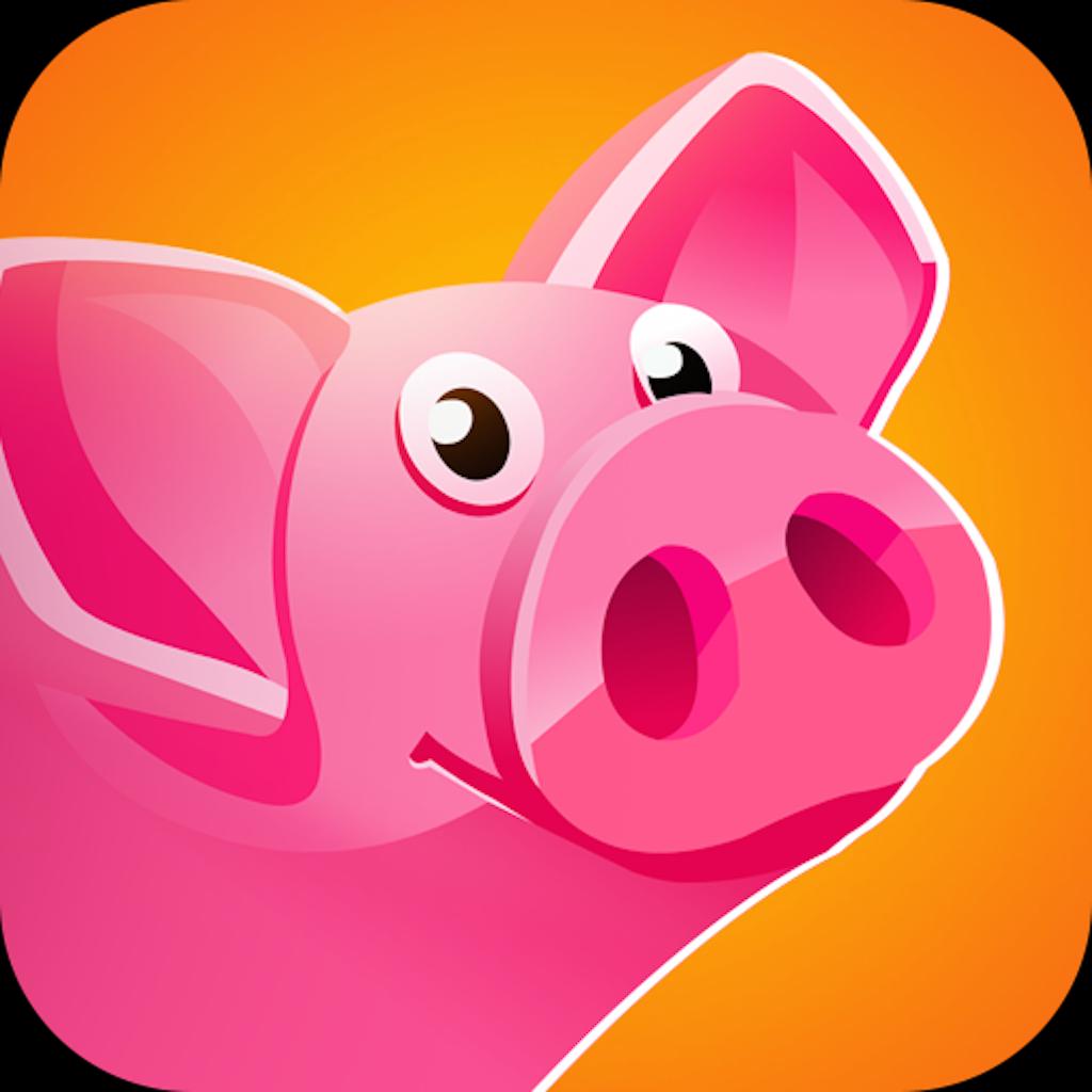 简笔画奔跑的猪